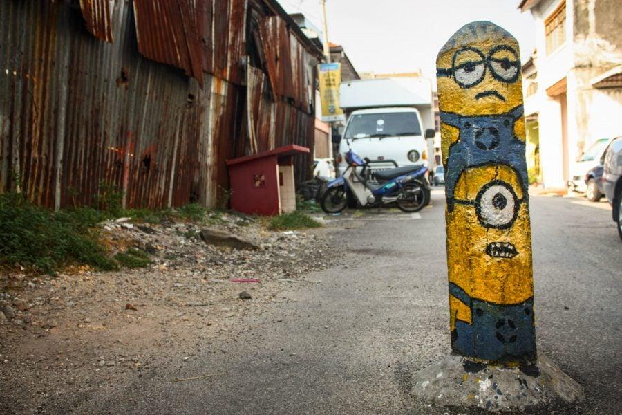 Penang Street Art - Despicable Me