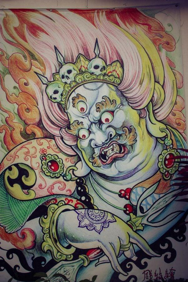 Penang Street Art - Zeu indian