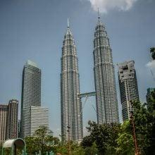 Turnurile Petronas din Kuala Lumpur