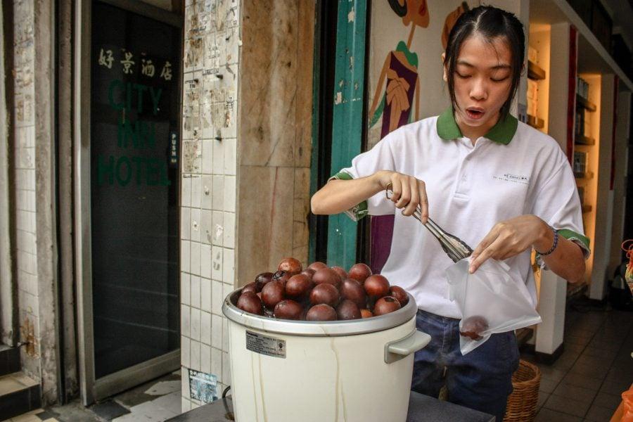 Ouă fierte în ceai, lucruri non turistice Kuala Lumpur