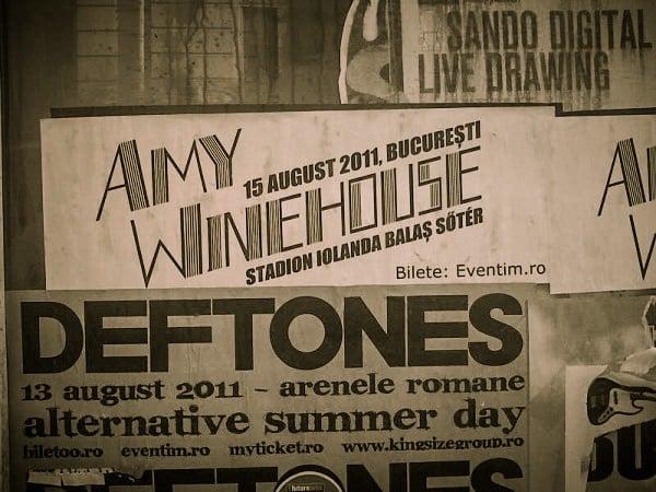 Amy Winehouse nu mai vine