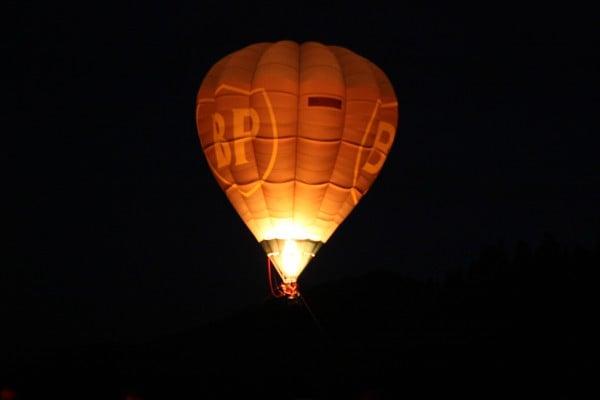 Balon British Petroleum la Padina Fest
