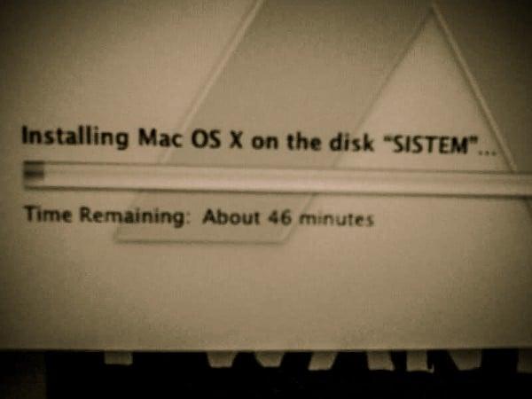 Instalare OSX Snow Leopard
