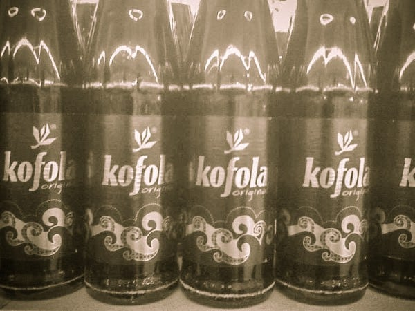 Kofola bate Cola