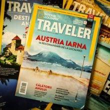 Coperta National Geographic Traveler 2014