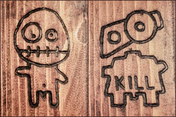 Decorațiuni foișor de lemn