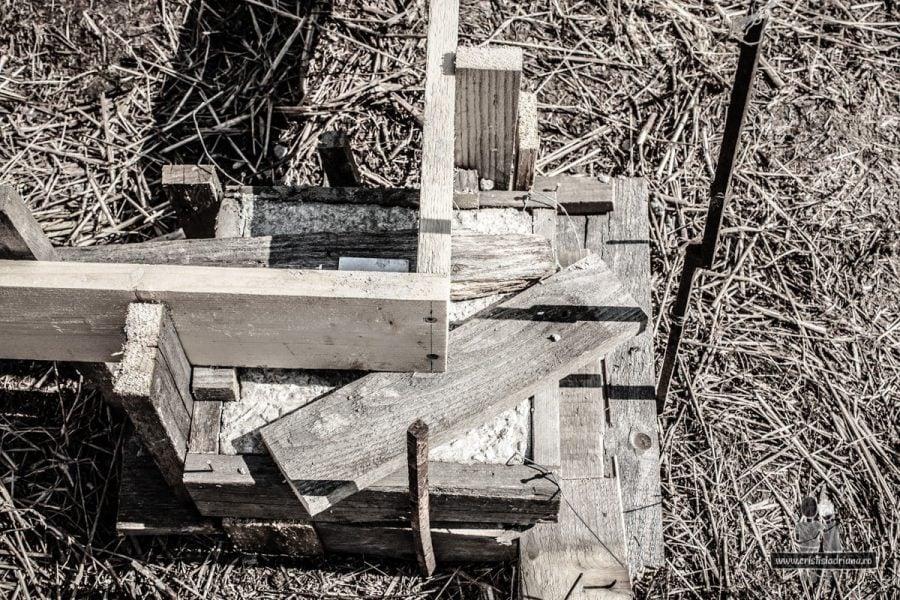 Fundație beton pentru foișor de grădină