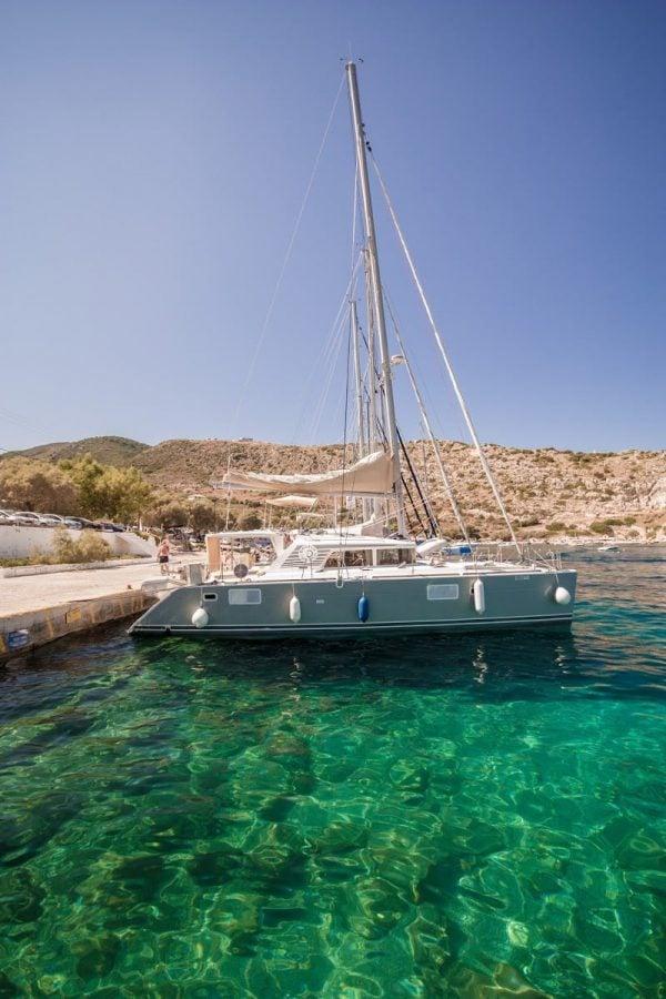 Barcă în portul St. Nicholas