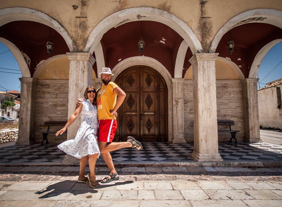 Cristi și Adriana în Zakynthos