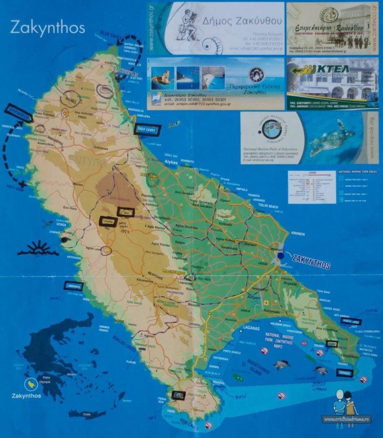 Harta Zakynthos