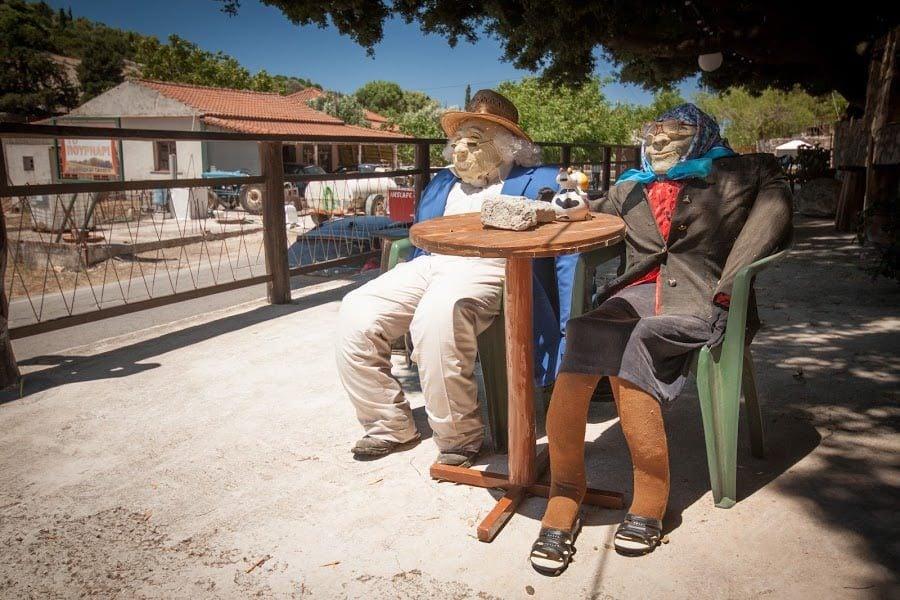 Păpuși în Zakynthos