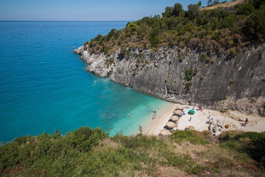 Plaja Xigia, Zakynthos