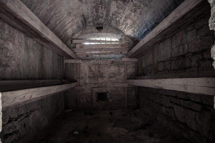 Temniță în castelul din Zakynthos