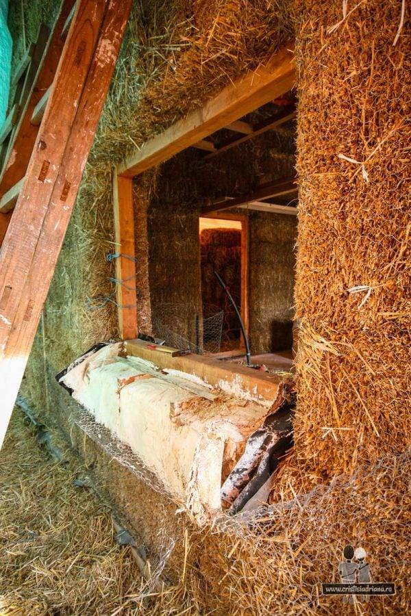 Cadru de lemn pentru geam