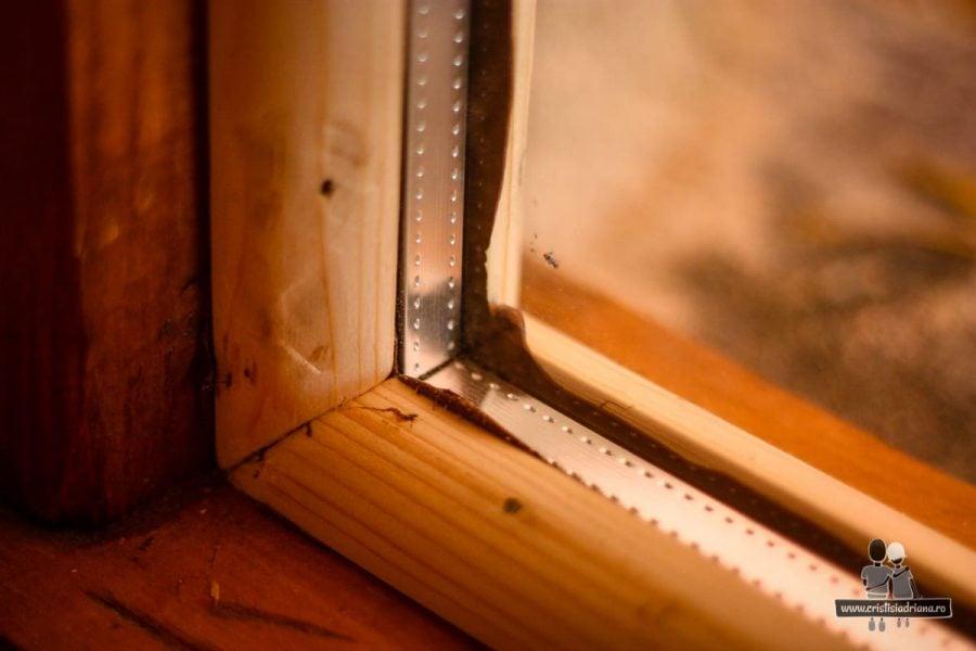 Montare geam termopan fără ramă