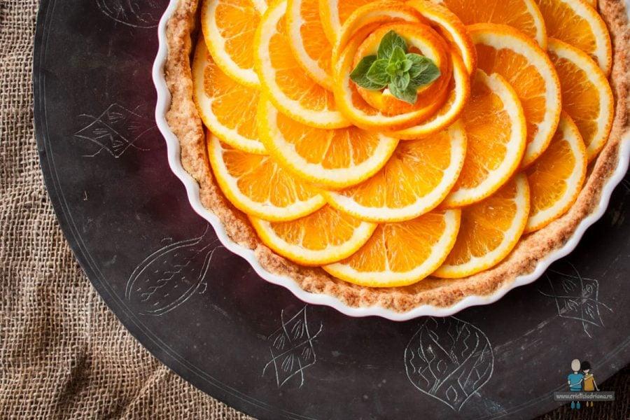 Tartă de portocale