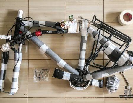 Împachetarea și transportul bicicletelor cu avionul