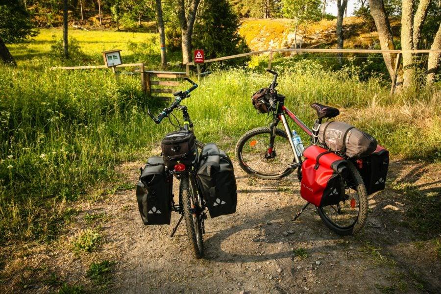 Biciclete cu bagaje