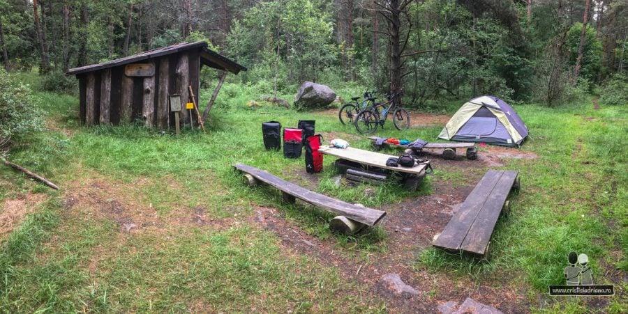 Camping de lux, Suedia