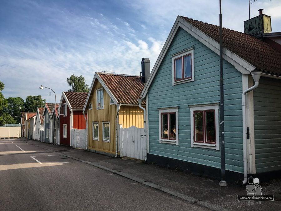 Căsuțe colorate Suedia