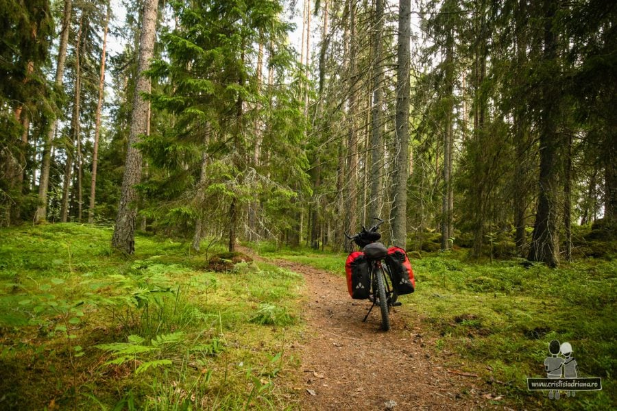 Loc de camping pentru biciclete