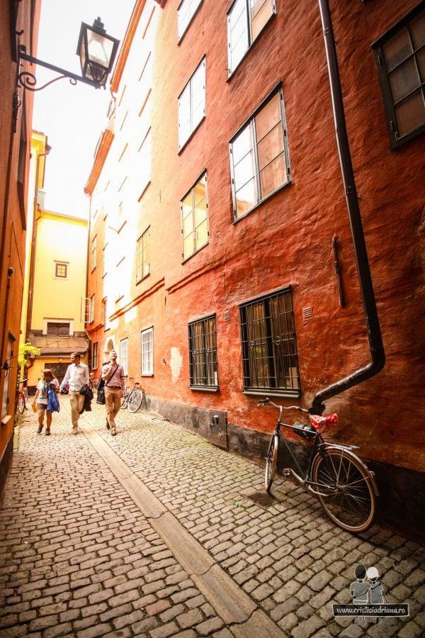 Explorat Stockholm pe jos