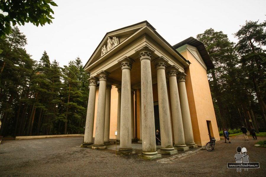 Ressurection Chapel în cimitirul Woodland