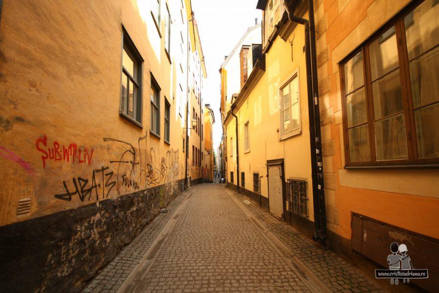 Străduță în Stockholm