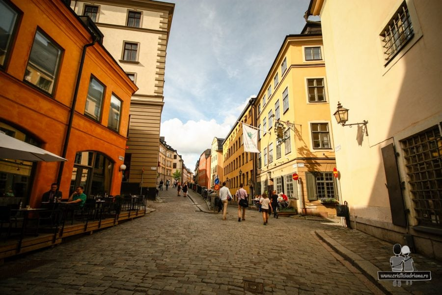 Străzi în Stockholm