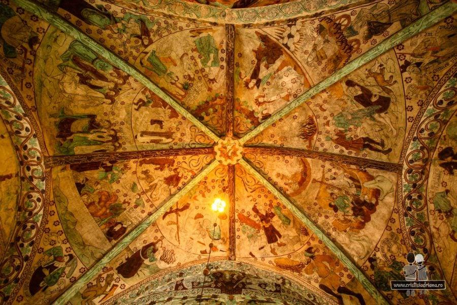 Tavanul bisericii Harkeberga