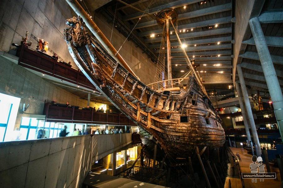 Corabia din Muzeul Vasa
