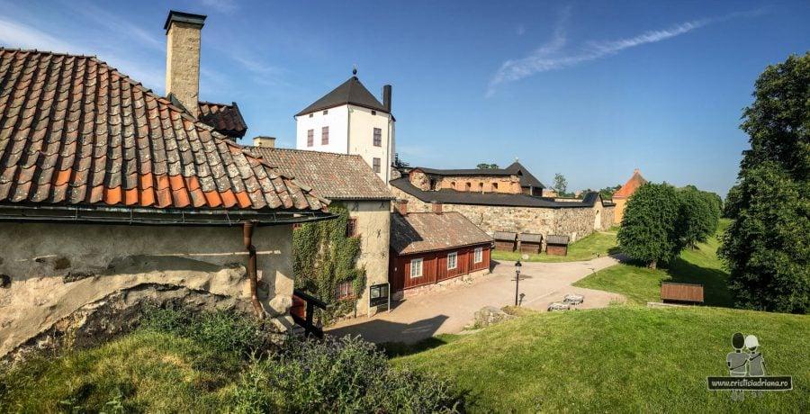 Vedere spre castel