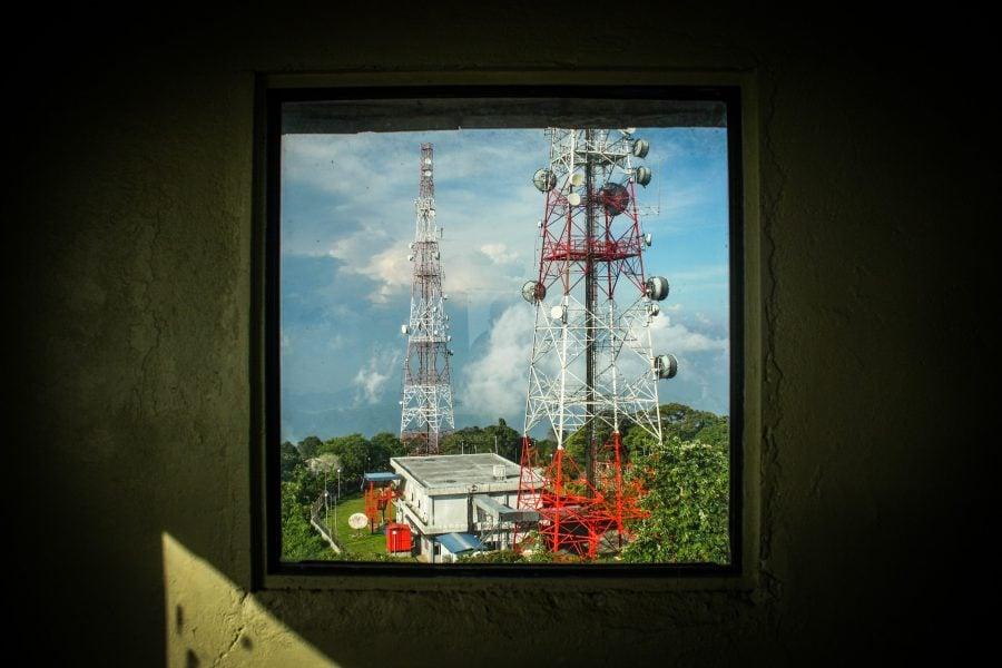 Antene de comunicații, Langkawi