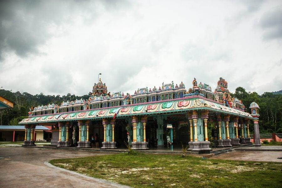 Clădire templu indian Langkawi