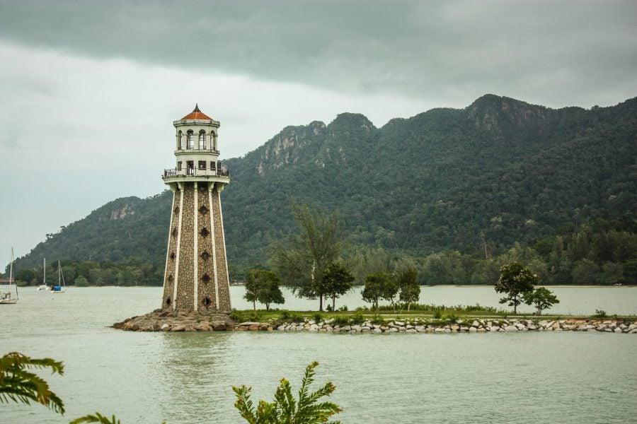 Far în Portul Telaga, Langkawi, Malaezia