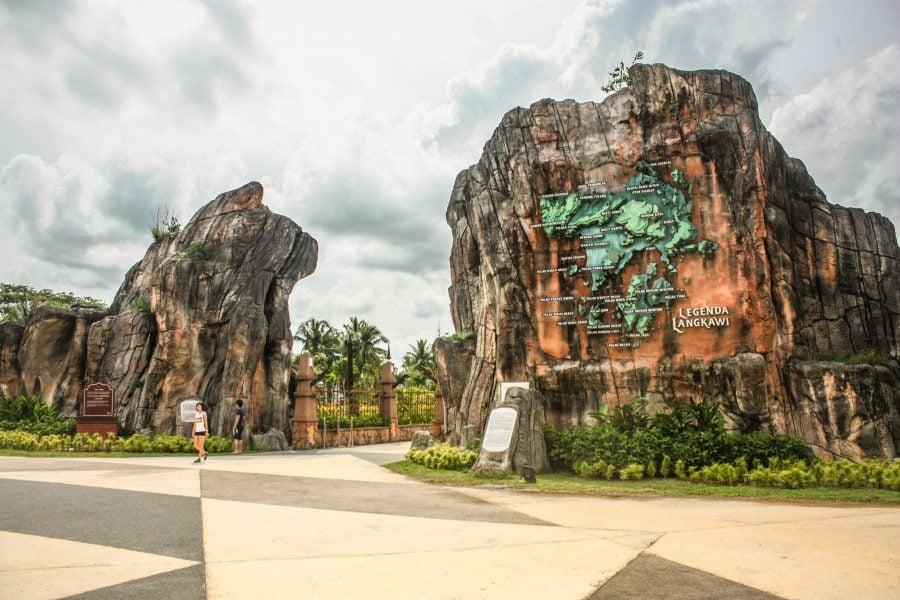 Intrarea în Lagenda Park Langkawi