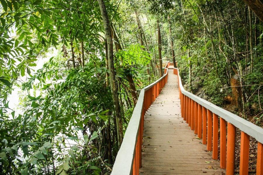 Pod pe lângă lac, Langkawi