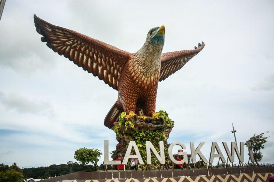 Vulturul din Eagle Square, Langkawi