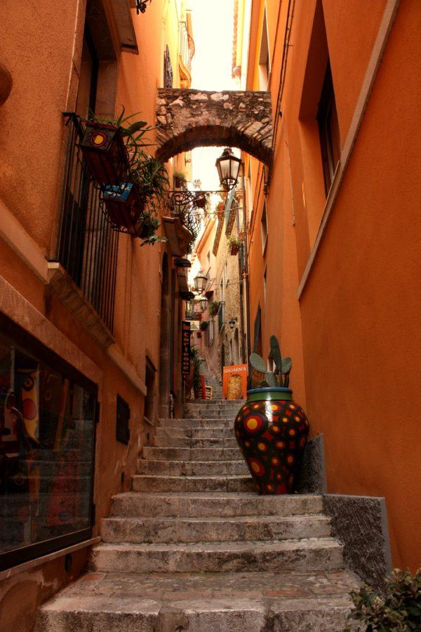 Strada în Taormina