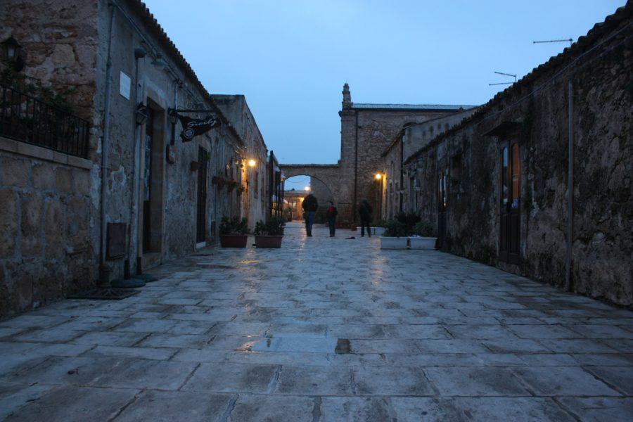 Marzamemi pe însetat, Sicilia