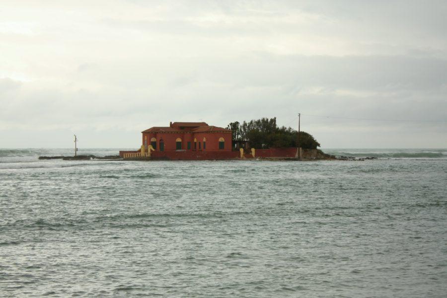 Insulă văzută din Mazamemi, Italia