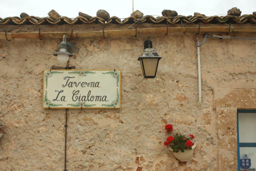 Taverna la Cialoma, Sicilia, Italia