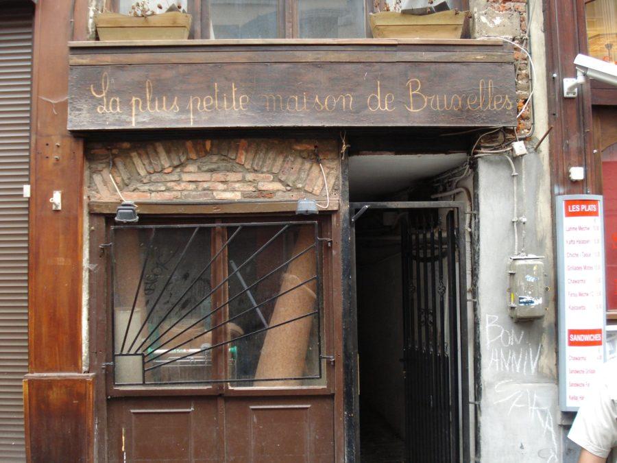 Cea mai mică casă din Brussels