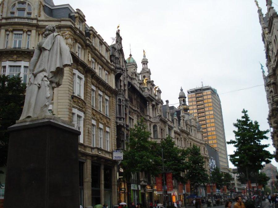 Meir Street, Antwerp, Belgium