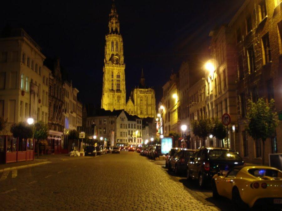 Noaptea în Antwerp, Belgia