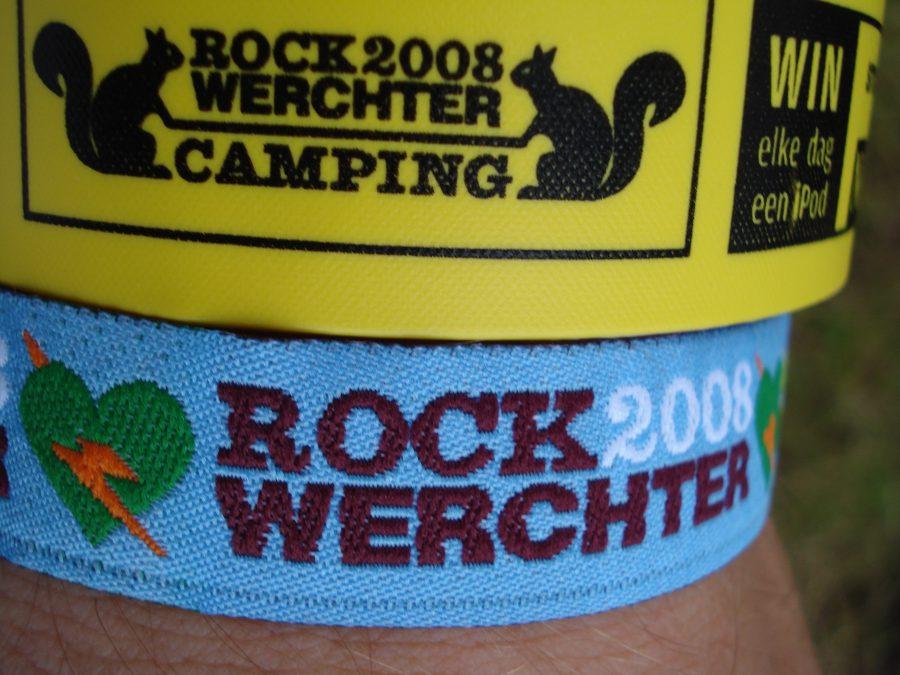 Brățări Rock Werchter, Belgia