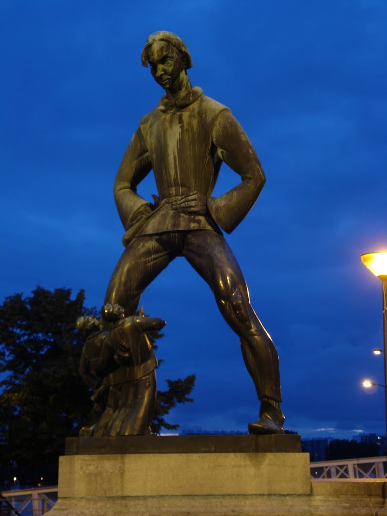 Statuia lui Lange Wapper, Anver, Belgia
