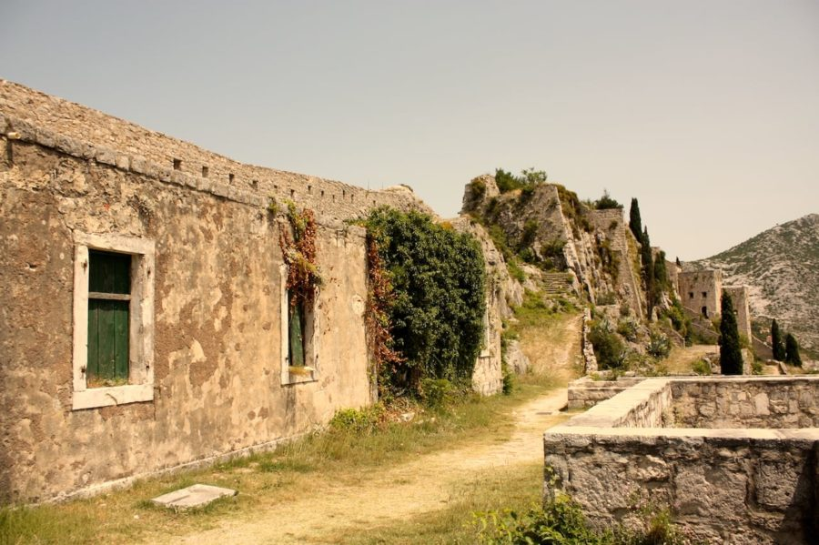 Drumul spre fortăreața Klis, Croația
