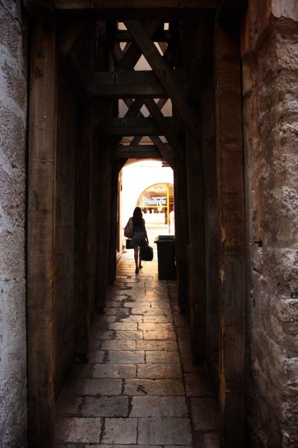 Stradă în Split, Croația