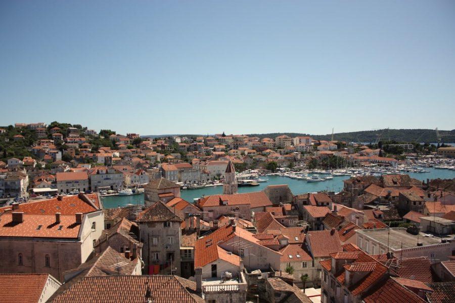 Vedere asupra orașului, Trogir, Croația